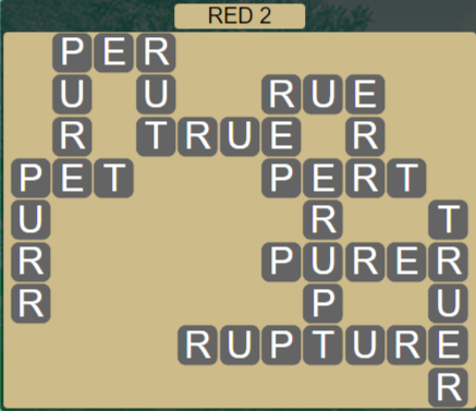 Wordscapes Marsh Red 2 - Level 2194 Answers