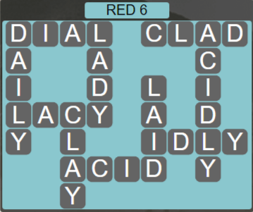 Wordscapes Marsh Red 6 - Level 2198 Answers