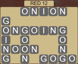 Wordscapes Marsh Red 12 - Level 2204 Answers