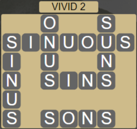 Wordscapes Marsh Vivid 2 - Level 2210 Answers