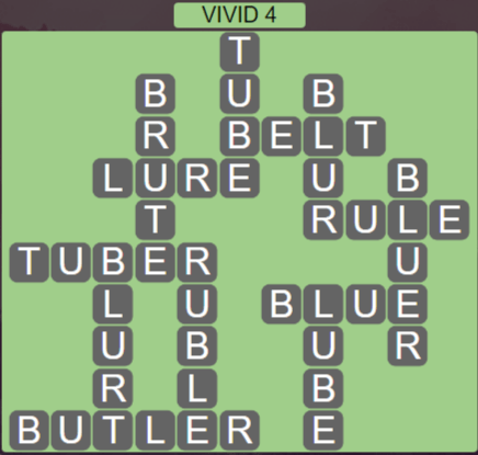 Wordscapes Marsh Vivid 4 - Level 2212 Answers