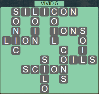 Wordscapes Marsh Vivid 5 - Level 2213 Answers