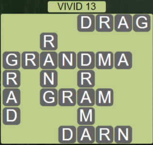 Wordscapes Marsh Vivid 13 - Level 2221 Answers