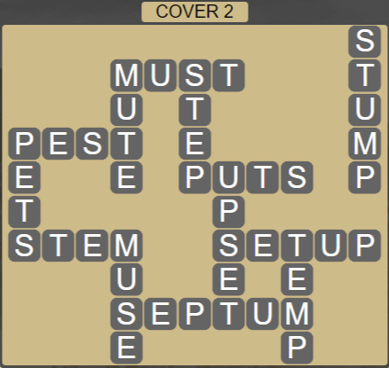 Wordscapes Marsh Cover 2 - Level 2226 Answers