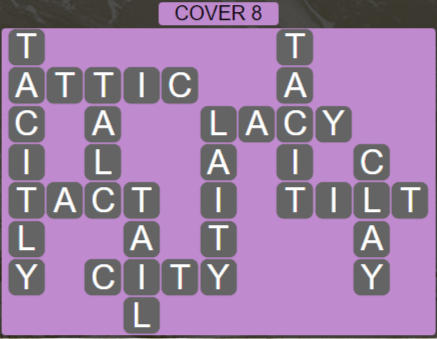 Wordscapes Marsh Cover 8 - Level 2232 Answers