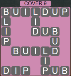 Wordscapes Marsh Cover 9 - Level 2233 Answers