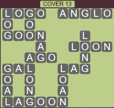 Wordscapes Marsh Cover 13 - Level 2237 Answers