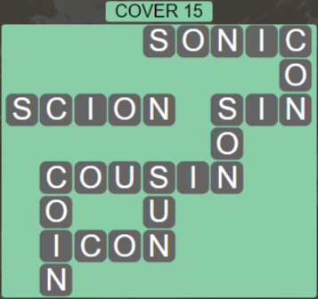 Wordscapes Marsh Cover 15 - Level 2239 Answers