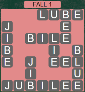 Wordscapes Woods Fall 1 - Level 2273 Answers
