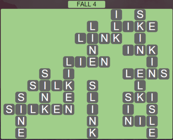 Wordscapes Woods Fall 4 - Level 2276 Answers