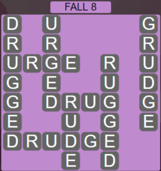 Wordscapes Woods Fall 8 - Level 2280 Answers