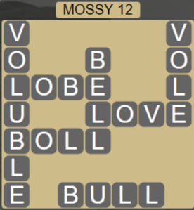 Wordscapes Woods Mossy 12 - Level 2300 Answers