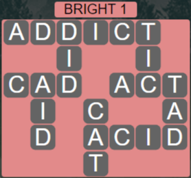 Wordscapes Woods Bright 1 - Level 2305 Answers