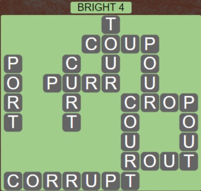 Wordscapes Woods Bright 4 - Level 2308 Answers