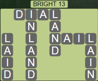 Wordscapes Woods Bright 13 - Level 2317 Answers