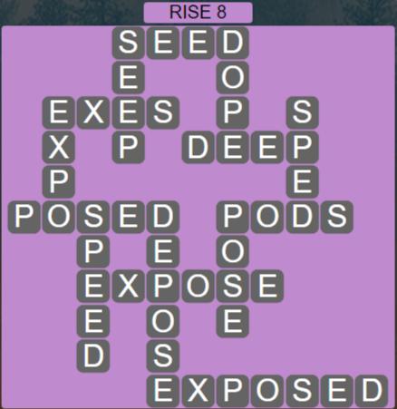 Wordscapes Arid Rise 8 - Level 2328 Answers