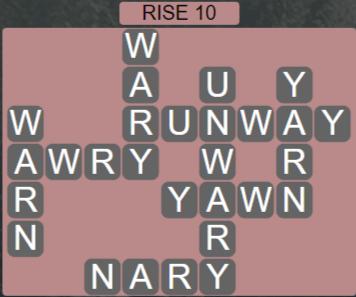 Wordscapes Arid Rise 10 - Level 2330 Answers