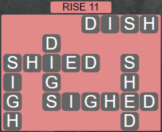 Wordscapes Arid Rise 11 - Level 2331 Answers