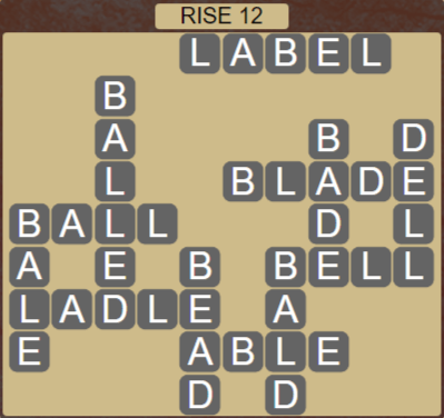 Wordscapes Arid Rise 12 - Level 2332 Answers