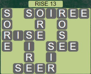 Wordscapes Arid Rise 13 - Level 2333 Answers