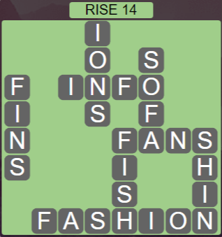 Wordscapes Arid Rise 14 - Level 2334 Answers
