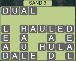 Wordscapes Arid Sand 3 - Level 2339 Answers