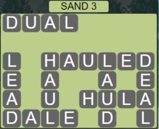 Wordscapes Arid Sand 3 - Level 2339 Answers