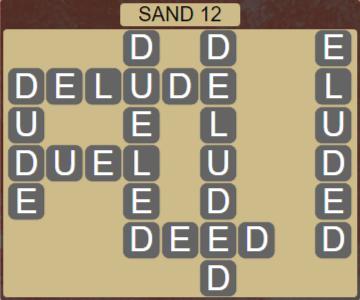 Wordscapes Arid Sand 12 - Level 2348 Answers