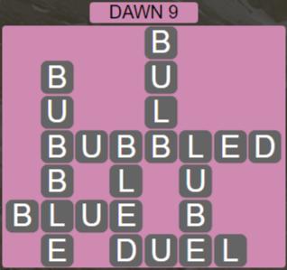 Wordscapes Arid Dawn 9 - Level 2361 Answers