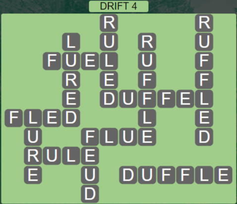 Wordscapes Arid Drift 4 - Level 2372 Answers