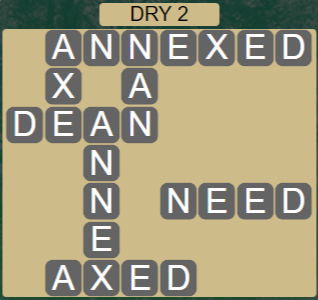 Wordscapes Arid Dry 2 - Level 2386 Answers