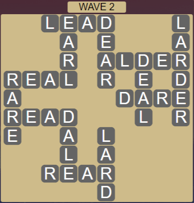 Wordscapes Tide Wave 2 - Level 2418 Answers