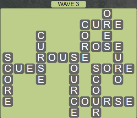 Wordscapes Tide Wave 3 - Level 2419 Answers