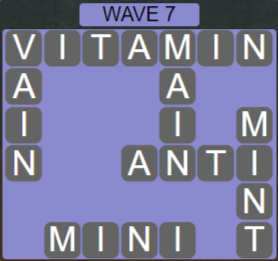 Wordscapes Tide Wave 7 - Level 2423 Answers