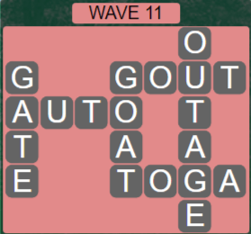Wordscapes Tide Wave 11 - Level 2427 Answers