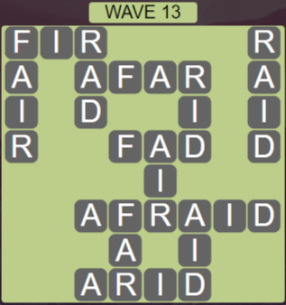 Wordscapes Tide Wave 13 - Level 2429 Answers