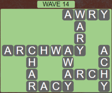 Wordscapes Tide Wave 14 - Level 2430 Answers