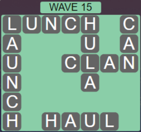 Wordscapes Tide Wave 15 - Level 2431 Answers