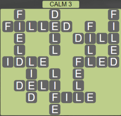 Wordscapes Tide Calm 3 - Level 2435 Answers