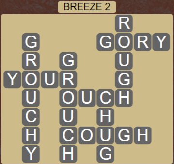 Wordscapes Tide Breeze 2 - Level 2450 Answers