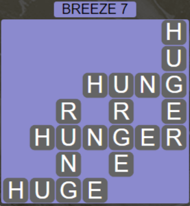 Wordscapes Tide Breeze 7 - Level 2455 Answers