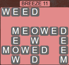 Wordscapes Tide Breeze 11 - Level 2459 Answers