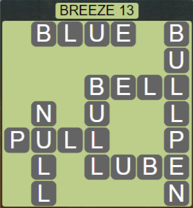 Wordscapes Tide Breeze 13 - Level 2461 Answers