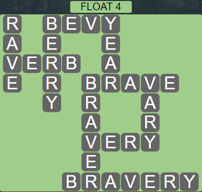 Wordscapes Tide Float 4 - Level 2468 Answers