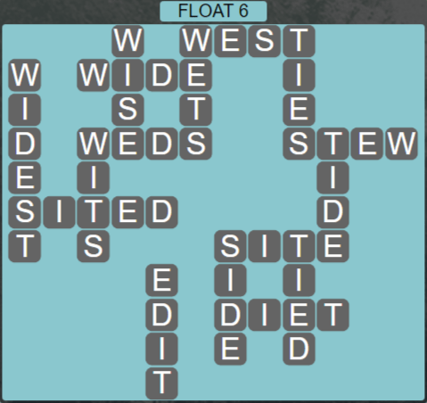 Wordscapes Tide Float 6 - Level 2470 Answers