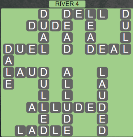 Wordscapes Level 2484 Passage River 4 Answers