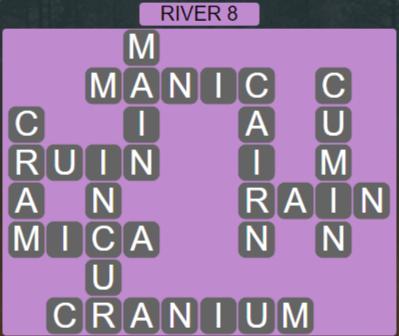 Wordscapes Level 2488 Passage River 8 Answers