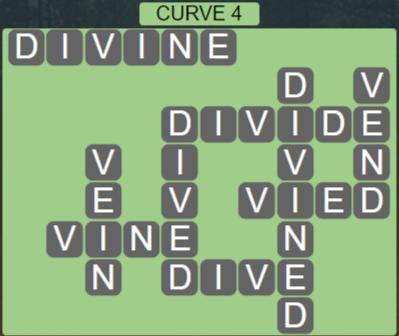 Wordscapes Passage Curve 4 – Level 2500 Answers