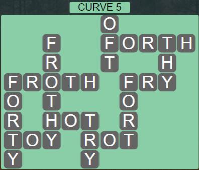 Wordscapes Passage Curve 5 – Level 2501 Answers