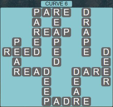 Wordscapes Passage Curve 6 – Level 2502 Answers